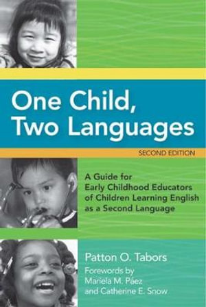 Cover of One Child, Two Languages