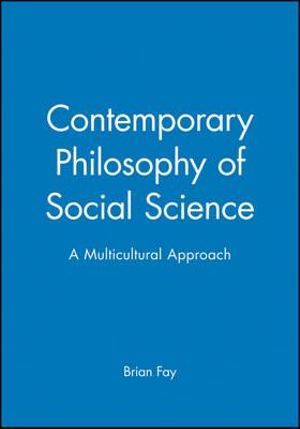 Cover of Contemporary Philosophy of Social Science