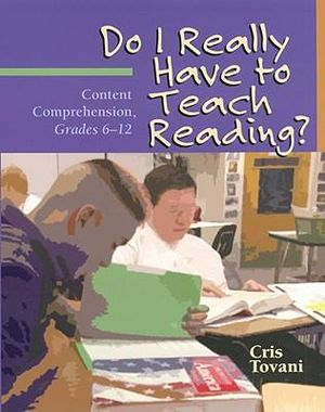 Cover of Do I Really Have to Teach Reading?