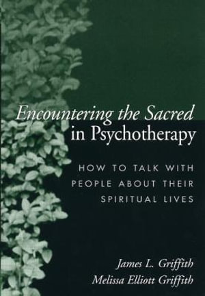 Cover of Encountering the Sacred in Psychotherapy