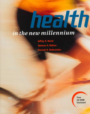 Cover of Health in the New Millennium