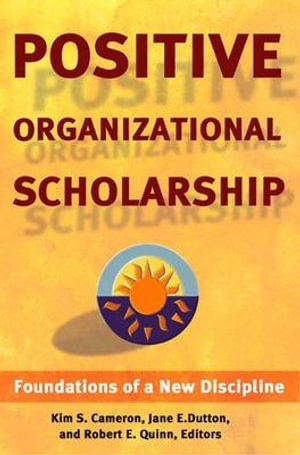 Cover of Positive Organizational Scholarship
