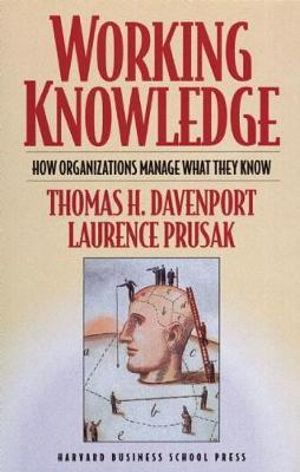 Cover of Working Knowledge