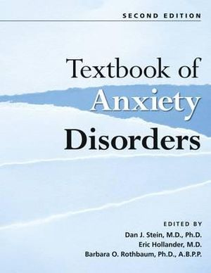Cover of Textbook of Anxiety Disorders