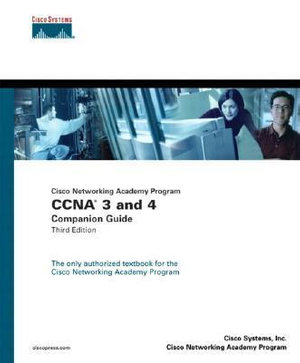 Cover of CNAP CCNA 3 & 4 Companion Guide