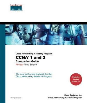 Cover of CNAP CCNA 1 & 2 Companion Guide Revised