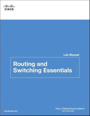 Cover of Routing and Switching Essentials Lab Manual