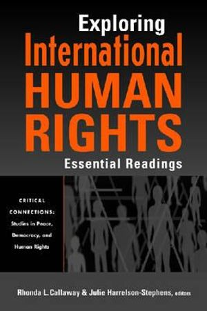 Cover of Exploring international human rights