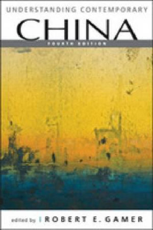 Cover of Understanding Contemporary China