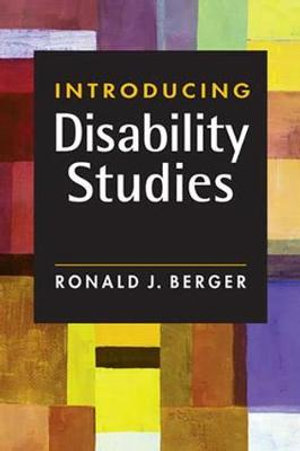 Cover of Introducing Disability Studies