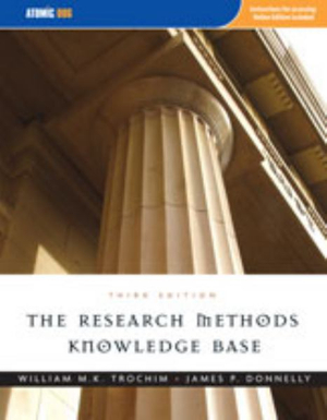 Cover of Research Methods Knowledge Base