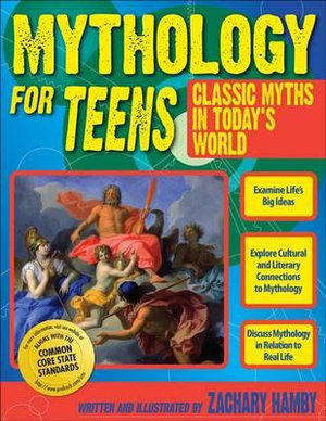 Cover of Mythology for Teens