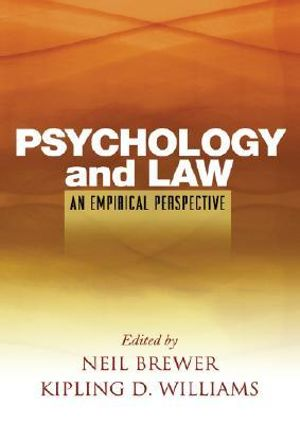 Cover of Psychology and Law: An Empirical Perspective