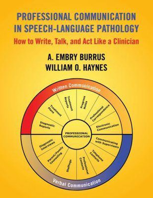 Cover of Professional Communication in Speech-language Pathology