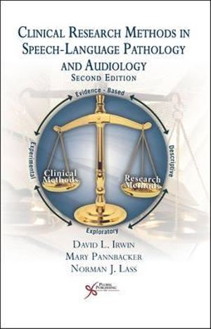 Cover of Clinical Research Methods in Speech-language Pathology and Audiology