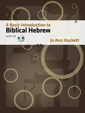 Cover of A Basic Introduction to Biblical Hebrew, with CD