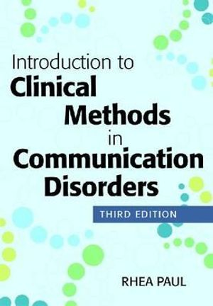 Cover of Introduction to Clinical Methods in Communication Disorders