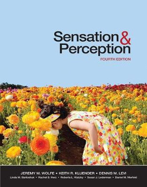 Cover of Sensation and Perception