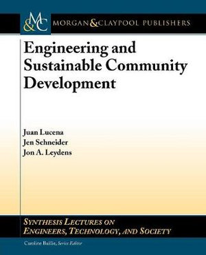 Cover of Engineering and Sustainable Community Development