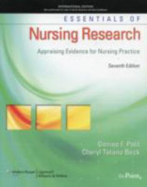 Cover of Essentials of Nursing Research