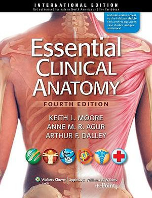 Cover of Essential Clinical Anatomy