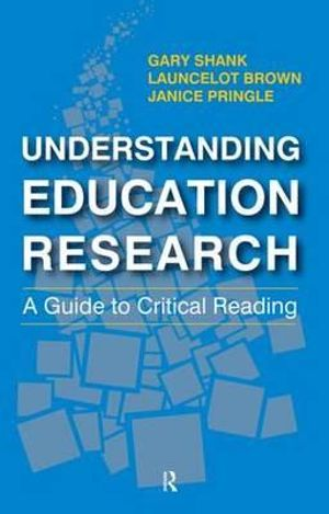 Cover of Understanding Education Research