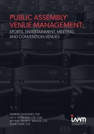 Cover of Public Assembly Venue Management