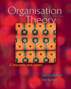 Cover of Organisation Theory