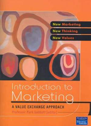 Cover of Introduction to Marketing
