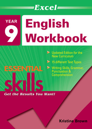 Cover of Excel Essential Skills English Workbook