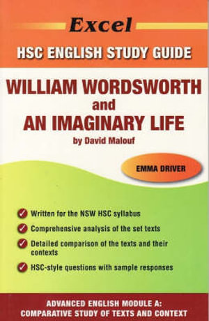 Cover of The Poetry of William Wordsworth and An Imaginary Life by David Malouf