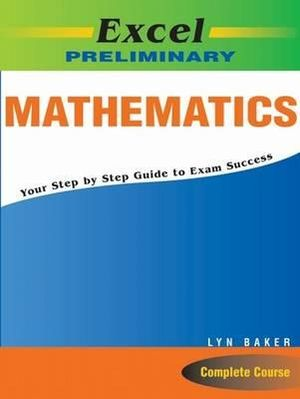 Cover of Excel Prelim Maths Study Guide Yr 11