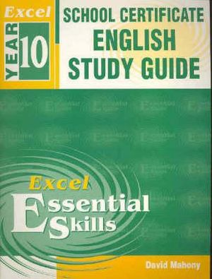 Cover of Excel School Certificate English