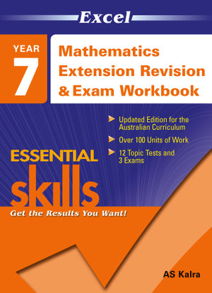 Cover of Year 7 Mathematics Revision and Exam Workbook 2 Extension