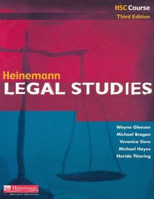 Cover of Heinemann Legal Studies