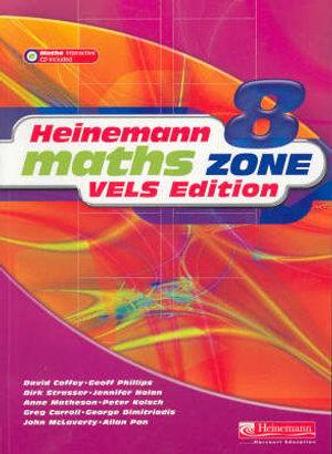 Cover of Heinemann Maths Zone 8 VELS Edition