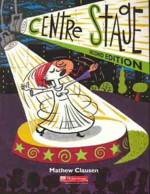 Cover of Heinemann Centre Stage 2nd second edition Textbook