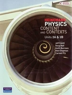 Cover of Heinemann Physics - Content and Contexts