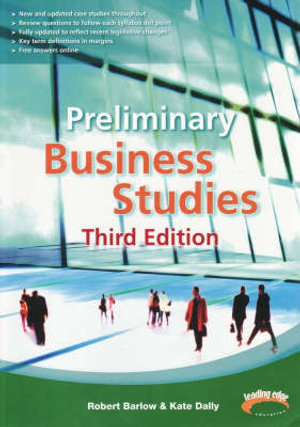 Cover of Preliminary Business Studies