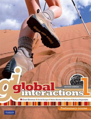 Cover of Global Interactions 1
