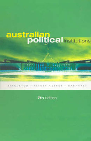 Cover of Australian Political Institutions