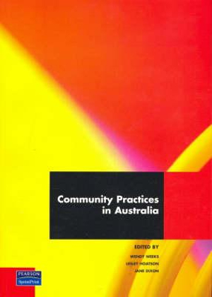 Cover of Community Practices in Australia
