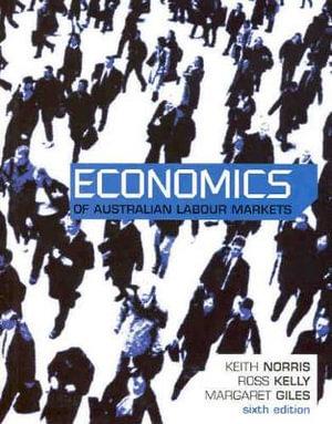 Cover of Economics of Australian Labour Markets
