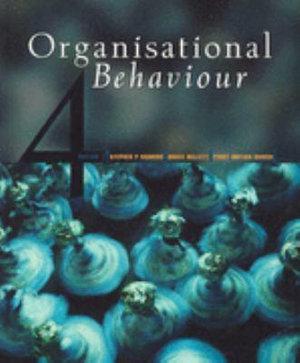 Cover of (Aust/Nz) Organisational Behaviour