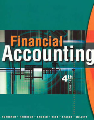 Cover of Financial Accounting Aus (Text Only)