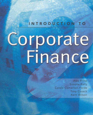 Cover of Introduction to Corporate Finance