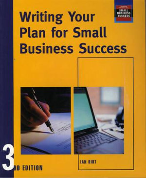 Cover of Writing Your Plan for Small Business Success