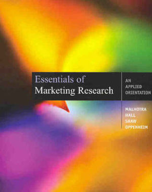 Cover of Essentials Marketing Research (Aust)