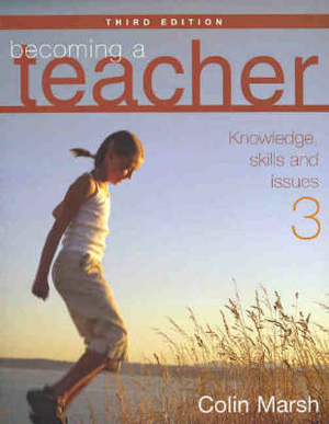 Cover of Becoming a Teacher