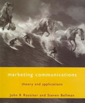 Cover of Marketing Communications:  Theory and Applications